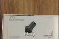 2020 Swarovski ATX 115 Spotting Scope (eyepiece And 115mm Objective Lens)