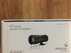 2020 Swarovski STX Spotting Scope With 65mm Objective Lens