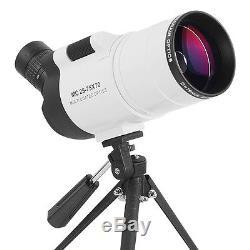 25-75X70 Zoom Spotting Scope Monocular Telescope With Tripod Waterproof Birding
