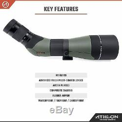 Athlon Optics Argos 20-60×85 HD 45 Degree Spotting Scope