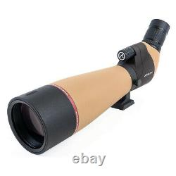 Athlon Optics Talos 20-60x80 Spotting Scope for Rifle Hunting and Bird Watching