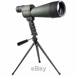 BARSKA 25 125x88 Waterproof Straight Spotting Scope Tripod Carrying Case