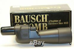BAUSCH&LOMB. 15-45 X 60 mm ZOOM spotting scope. MADE IN JAPAN