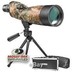 Barska 20-60x60 Blackhawk Mossy Oak Camo Spotting Scope with Case & Tripod AD10976
