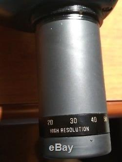 Bausch & Lomb Elite / ED 20-60x77 Spotting scope / Made in Japan Bushnell