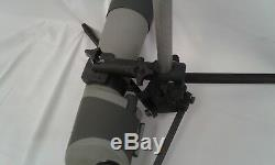 Black Spotting scope stand 7/8 rod. High Power, National Match, High Power
