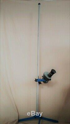 Blue Spotting scope stand 7/8 rod. High Power, Small-bore, National Match, CMP