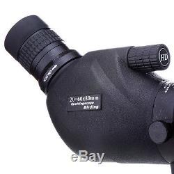 Brand New 20-60x80 Zoom Bird Spotting Scope Telescope With Tripod for Hunting Bird