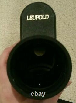 Brand New Gold Ring Leupold 12x40-60mm Variable Spotting Scope with Case