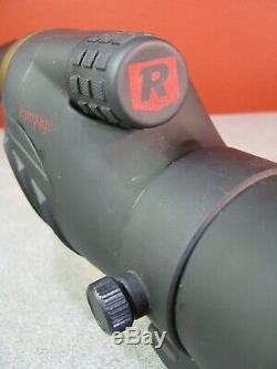 Bundle Redfield Rampage 20-60x60mm Spotting Scope, Inner+Outer Cases, Cloth