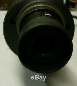 Burris Landmark 20x-60x-80mm Long Eye Relief Spotting Scope
