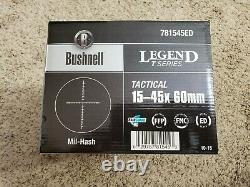 Bushnell 15-45x60mm Legend T-Series Tactical Spotting Scope FDE Tan 781545ED