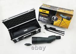 Bushnell Trophy Spotting Scope, 20-60x65mm, Waterproof, Case Tripid (786520)
