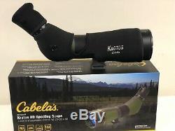 Cabelas Krotos HD Spotting Scope 20-60x86