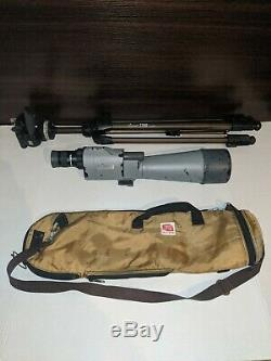 Fujinon super ED 80 Field Spotting Scope 20-60x/80mm zoom Lens & Body