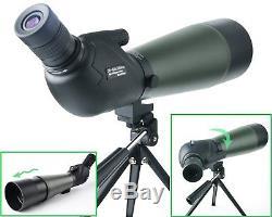 Gosky 20-60 X 80 Porro Prism Spotting Scope- Waterproof Scope for Bird watching
