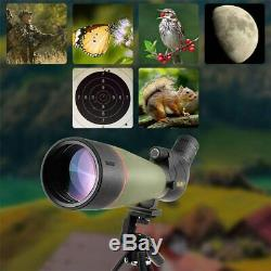 Gosky WaterProof Spotting Scope 20-60X 80 with Tripod Hunting Birding Shooting