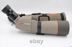 KOWA Prominar TSN-663 spotting scope with 20x-60x eye piece