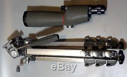 KOWA TS-2 SPOTTING SCOPE With TRIPOD AND 20-60MM ZOOM EYEPIECE