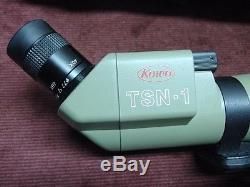 Kowa Tsn-1 20-60x Spotting Scope 77mm Made In Japan Mint With Case