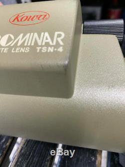 Kowa Prominar TSN-4 Field Scope LENS TSN-4 77-P WXCELLENT k19