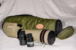 Kowa Prominar TSN-4 Flourite 77mm Spotting Scope with Two Eyepieces and Case