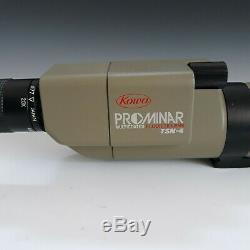 Kowa Prominar TSN-4 Spotting Scope 20-60x Zoom Eyepiece Fluorite Lens