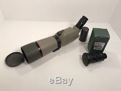 Kowa Prominar TSN-663 ED Spotting Scope with 20X-40X and TSE-Z9 20X-60X eyepiece