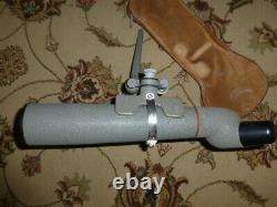 Kowa TS-1 Bushnell 60mm Angled Spotting Scope withFreeland Stand Tripod 25x Nice