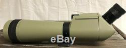 Kowa TSN-1 Spotting Scope Offset 45 Deg. 77MM With Case 20-60x Japan Vintage