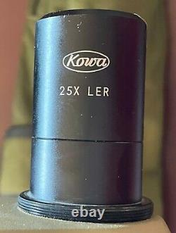 Kowa TSN-2 Spotting Scope, 77mm with 25X Eyepiece, Case and lens caps