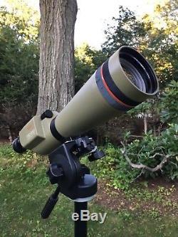 Kowa TSN-4 spotting scope with Bogen Tripod
