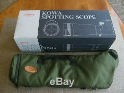 Kowa TSN-821 82mm Spotting Scope with 27x LER Eyepiece and Padded Carrying Case