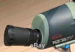 Kowa TSN-82SV 82mm Spotting Scope 25x Long Eye Relief Eyepiece with Case