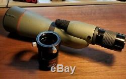 Kowa TSN-884 Prominar Straight Spotting Scope with20-60x Eyepiece & Photo Adapter
