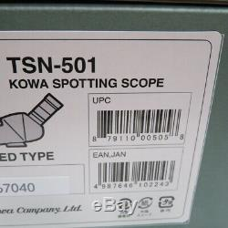 Kowa spotting scope TSN-501 from Japan