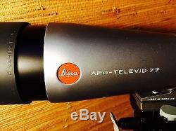 LEICA APO TELEVID 77 Angled Spotting Scope