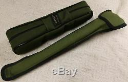 LEUPOLD 20X50MM GOLD RING SPOTTING SCOPE With LEUPOLD TRIPOD IN GREEN CANVAS CASES