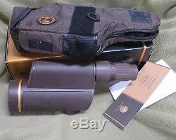 LEUPOLD 61050 12-40X60MM Spotting Scope Brown Armor 12-40x60