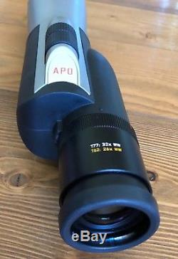 Leica APO Televid 62 spotting scope exc. Cond