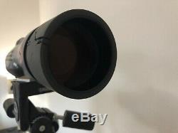 Leica APO Televid 77 Spotting Scope 20-60x Eyepiece Fluorite Lens + Bogen Tripod