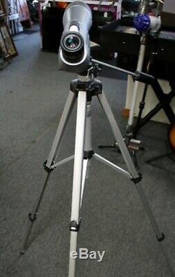 Leica APO Televid 77 Spotting Scope Telescope 20x WW with 63 1/2 Velbon Tripod