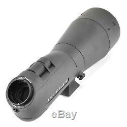 Leica APO-Televid 82 Angled Spotting Scope with Tripod and Head, Black, 40139