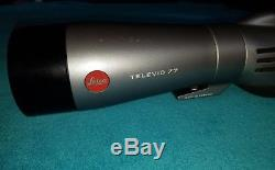 Leica Televid 77 Spotting Scope with 20x-60x Lens