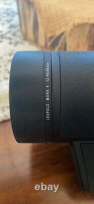 Leupold 53756 Mark 4 12-40x60mm Spotting Scope With TMR Reticle