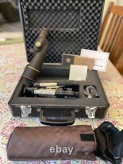 Leupold GR 15-30x50mm Straight Compact Spot Scope w / tripod and hard case