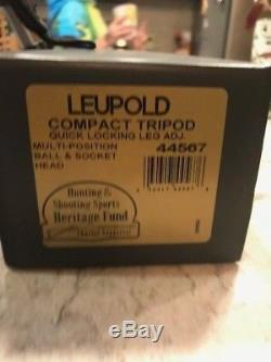 Leupold Gold Ring 15-30x50mm Compact Spotting Scope and Leupold Tri Pod