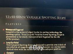 Leupold Gold Ring Spotting Scope 12-40 x 60