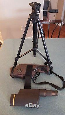 Leupold Golden Ring 12x-40x 60mm Spotting Scope with tripod