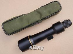 Leupold Golden Ring Compact Spotting Scope with factory case and sunshade